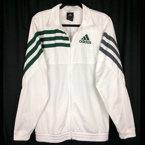 Adidas Climalite White Track Jacket